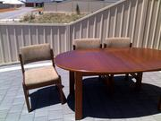 Dining Table/6 Dining Chairs