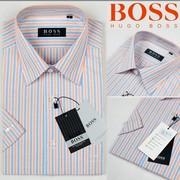 cheap Boss Short sleeve Dress Shirt, cheap $10Ralph lauren stripes polo