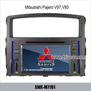 Mitsubishi Pajero V97, V93 OEM radio Car DVD Player GPS navi TV stereo