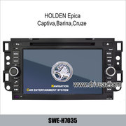 HOLDEN Epica, Captiva, Barina, Cruze radio GPS DVD Player IPOD SWE-H7035