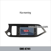 Kia morning original radio stereo car DVD player GPS navigation TV