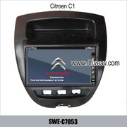 Citroen C1 stereo radio Car DVD player TV GPS rearview camera