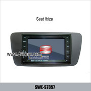 Seat Ibiza OEM stereo car dvd player GPS navigation TV IPOD SWE-S7357