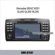 Mercedes BENZ W251 GL450 GL350 ML350 stereo radio dvd player GPS TV SW