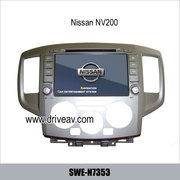 NISSAN NV200 2012 OEM radio stereo car DVD Player GPS navigation tv SW