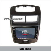 TOYOTA Avanza OEM stereo auto dvd player GPS navigation TV SWE-T7361