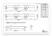 Steel Detailing / Steel Shop Drawings services at very affordable cost