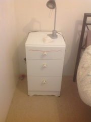 Dressing table and matching draws