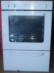 electric wall oven and stove top