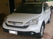2009 Honda Cr-v Honda CRV (4x4) Luxury (2009) white with cream lea